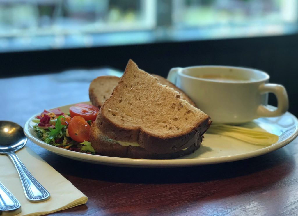 soup and sandwich offer at Smiths Bar Ayr