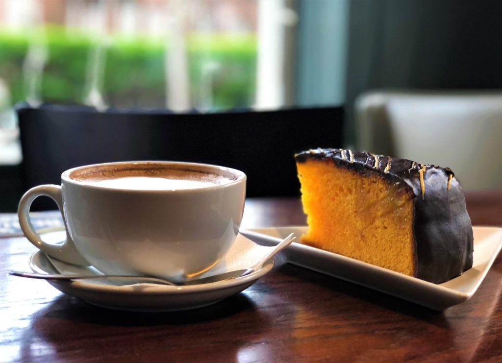 coffee and cake Smiths Bar Ayr